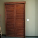 Patio Door shutter