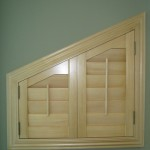 Angled Top shutter