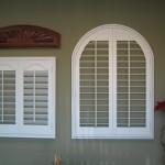 Arch Top wood shutter