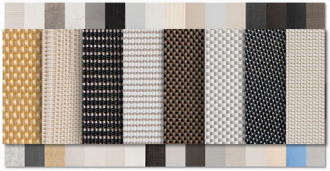 Roller Shades fabrics and colors